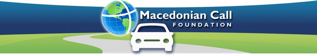 Macedonian Call Foundation banner